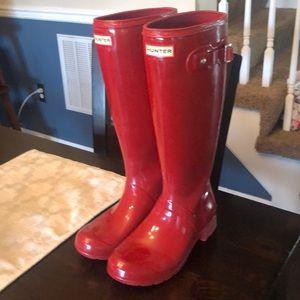 Hunter boots tall